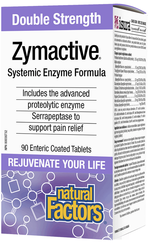 Natural Factors Zymactive Double Strength | YourGoodHealth