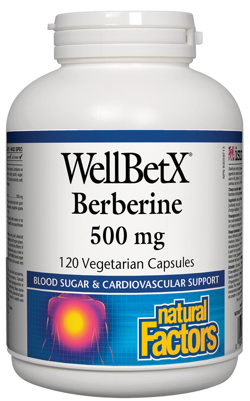 Natural Factors WellBetX Berberine  | YourGoodHealth