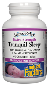 Natural Factors Tranquil Sleep Extra Strength | Your Good Health