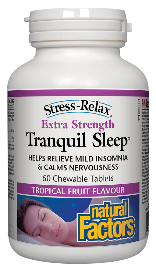Natural Factors Tranquil Sleep Extra Strength | YourGoodHealth