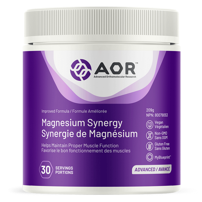 AOR Magnesium Synergy 30 Servings | YourGoodHealth