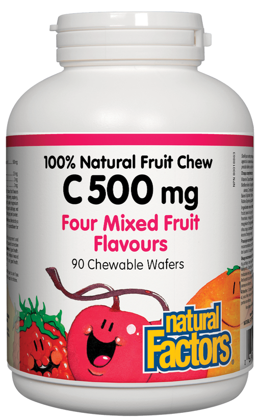 Natural Factors Vitamin C Mixed Fruit | YourGoodHealth