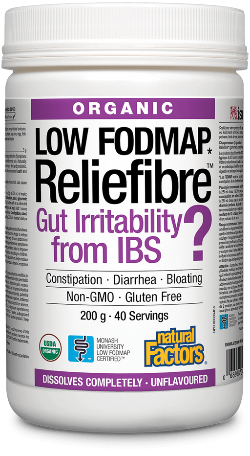 Natural Factors Reliefibre  200g | YourGoodHealth