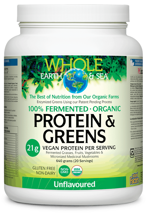 Whole Earth & Sea Protein & Greens | YourGoodHealth