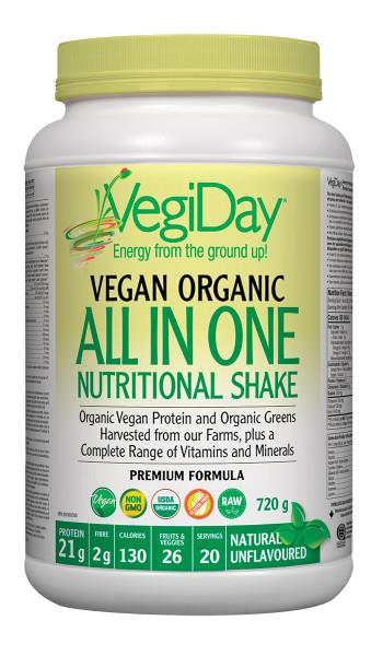 Vegiday All in One Unflavoured Shake  | YourGoodHealth