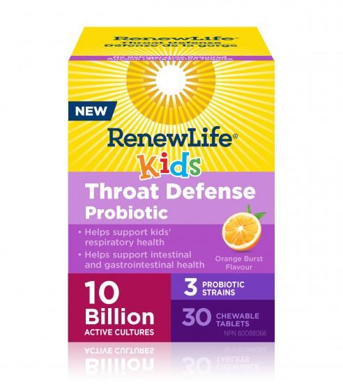 Renew Life Kids Ear, Nose Throat Probiotic | YourGoodHealth