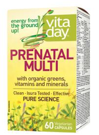 Vitaday Prenatal Multivitamin 60capsules | YourGoodHealth