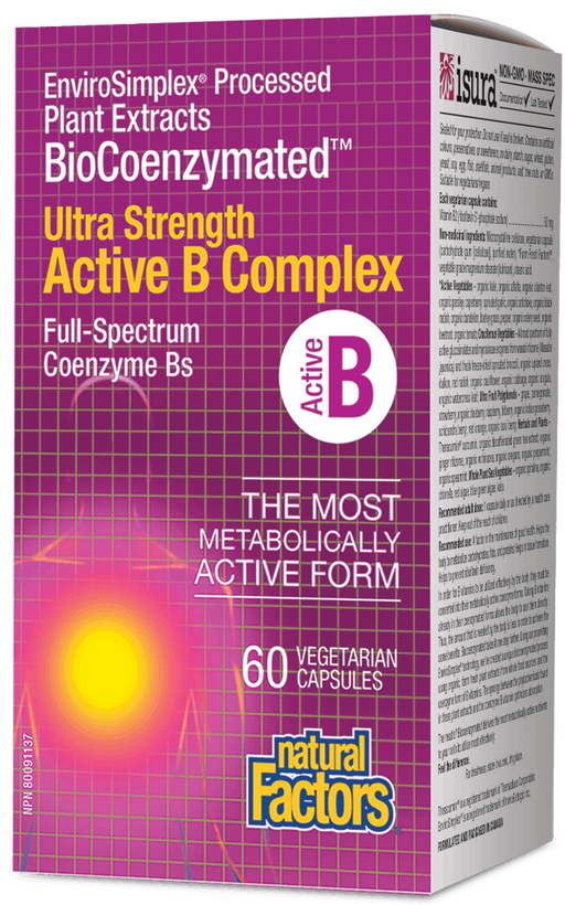 Natural Factors UltraStrength Active B | YourGoodHealth