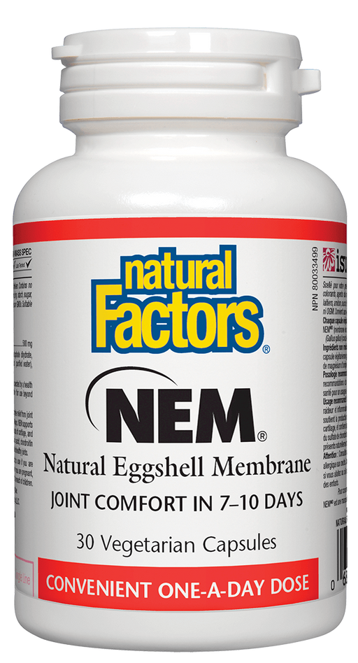 Natural Factors NEM 30 capsules | YourGoodHealth