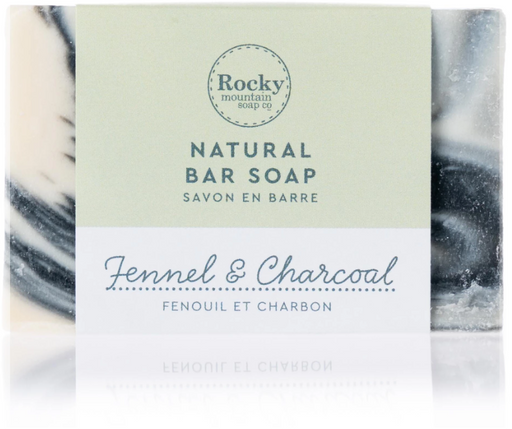 Rocky Mountain Fennel & Charcoal Soap | YourGoodHealth