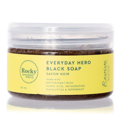 Rocky Mountain Everyday Hero Black Soap 250ml | YourGoodHealth