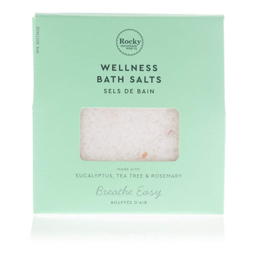 Rocky Mountain Breathe Easy Bath Salts | YourGoodHealth
