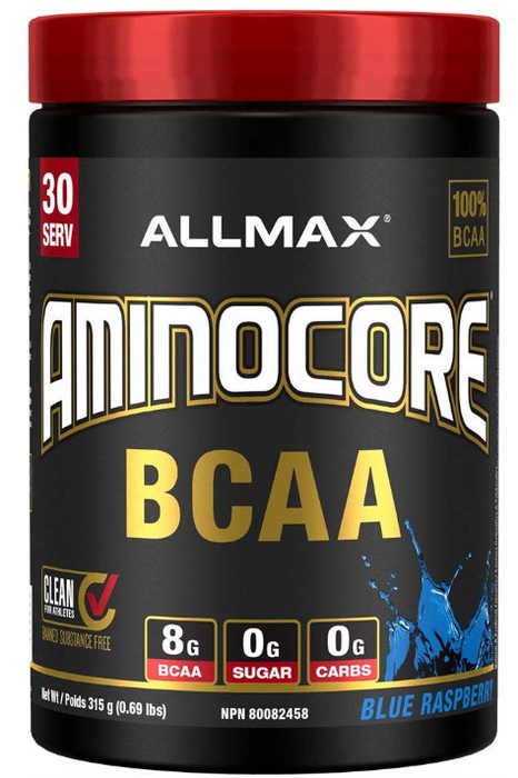 Allmax Aminocore Blue Raspberry 315g | YourGoodHealth