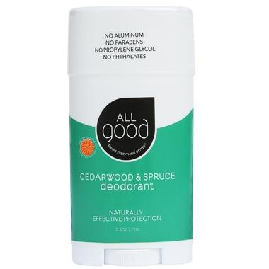 All Good Cedarwood & Spruce Deodorant | YourGoodHealth