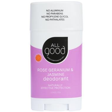 All Good Rose Geranium Deodorant  | YourGoodHealth