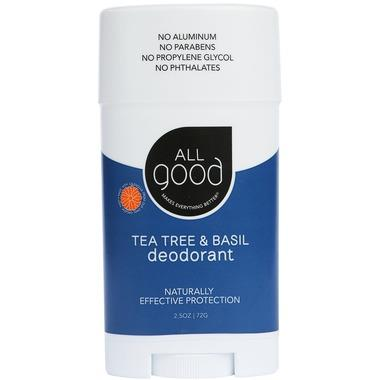 All Good Tea Tree & Basil Deodorant | YourGoodHealth
