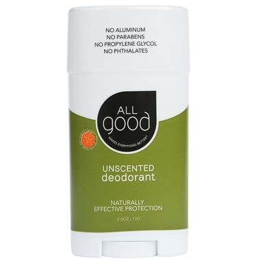 All Good Unscented Deodorant | YourGoodHealth