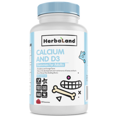 Herbaland Adult Calcium with D Gummies | YourGoodHealth