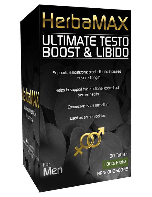 Herbamax Ultimate Testosterone Boost 60 capsules | YourGoodHealth