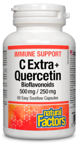 Natural Factors C Extra Quercitin 60 capsules | YourGoodHealth