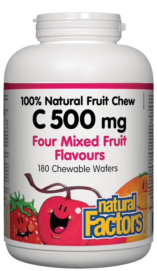 Natural Factors Vitamin C Chewable Fruit | YourGoodHealth