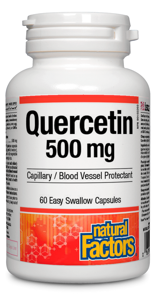 Natural Factors Quercitin 500mg | YourGoodHealth