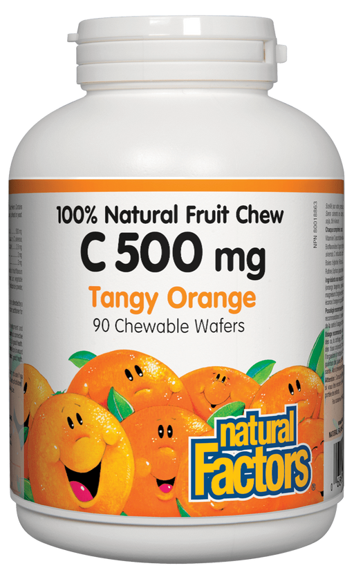 Natural Factors Vitamin C Chewable Orange | YourGoodHealth