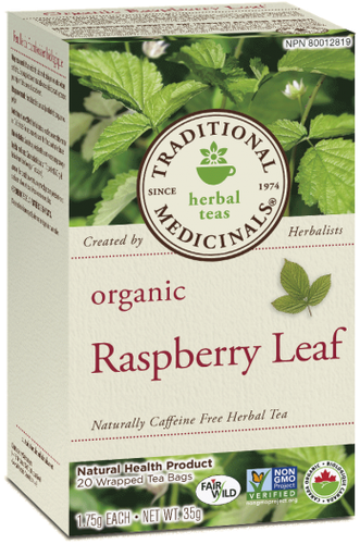 Traditional Medicinals Raspberry Tea | YourGoodHealth