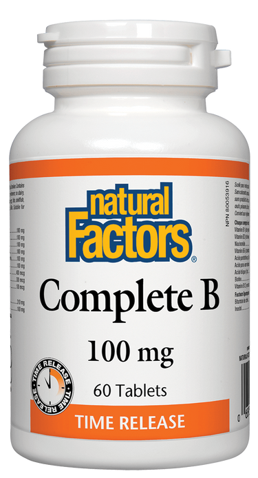 Natural Factors Complete B 100mg | Your Good Health