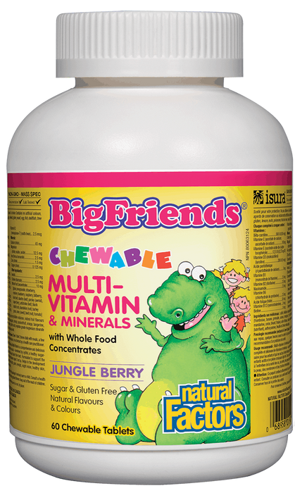 Natural Factors Big Friends Multivitamin | YourGoodHealth