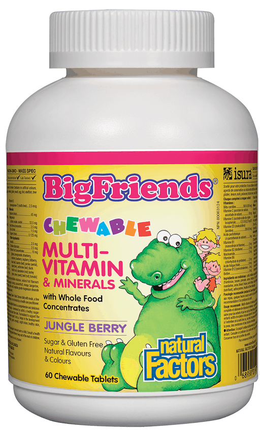 Natural Factors Big Friends Kids Multi | YourGoodHealth