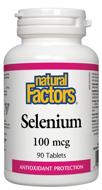 Natural Factors Selenium 100 mcg | Your Good Health