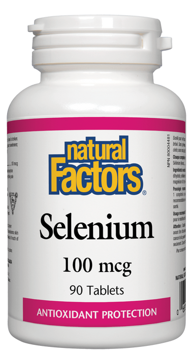 Natural Factors Selenium 100 mcg | YourGoodHealth