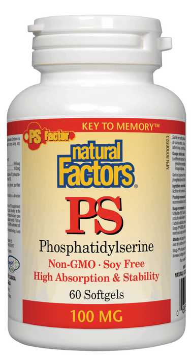 Natural Factors PS Phosphatidylserine | Your Good Health