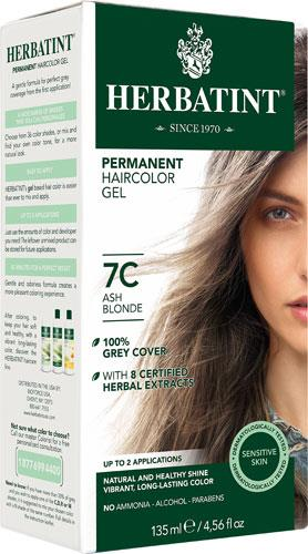 Herbatint Permanent Hair Colour 7C Ash Blonde | YourGoodHealth