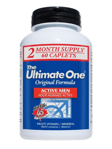Nulife Ultimate One Multivitamin Men Active 60 tablets