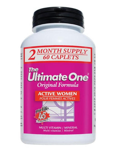 Nulife Ultimate One Multivitamin Women Active 60 tablets