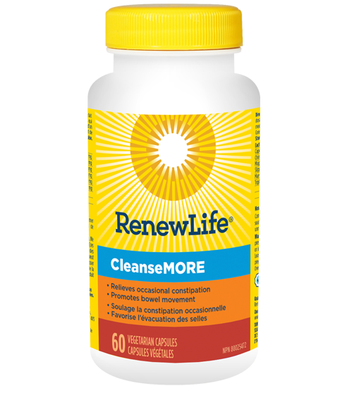 Renew Life Cleansemore 60 capsules | YourGoodHealth