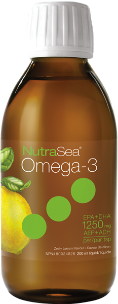 Nutrasea Omega 3 Lemon 500ml | YourGoodHealth