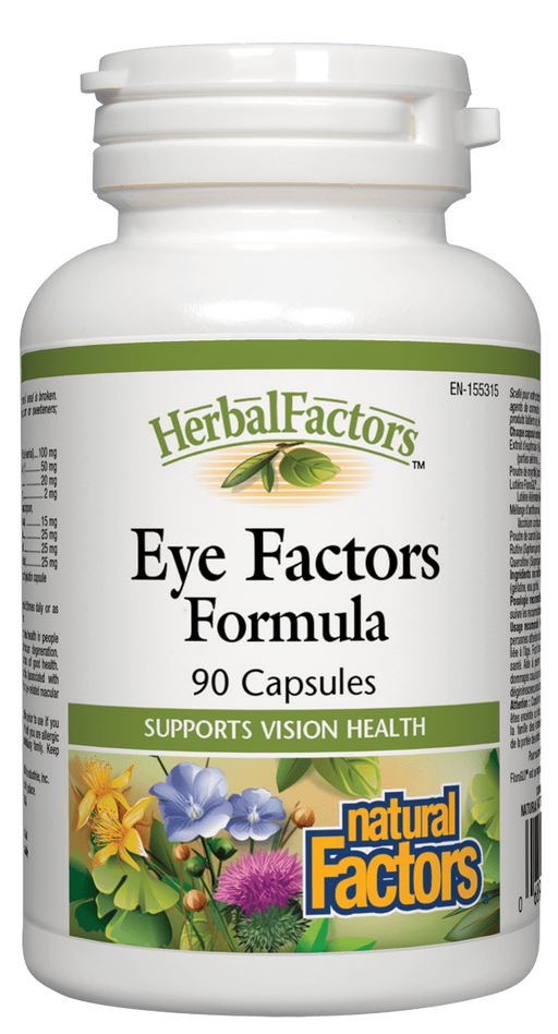Natural Factors Eye Factors | Your Good Health