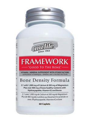 Nulife Framework 60 caplets | Your Good Health