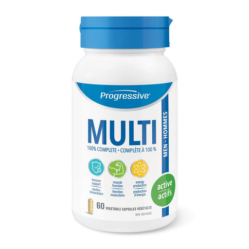 Progressive Mens Active Multivitamin 60 caps | YourGoodHealth