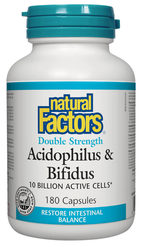 Natural Factors Acidophilus & Bifidus | Your Good Health