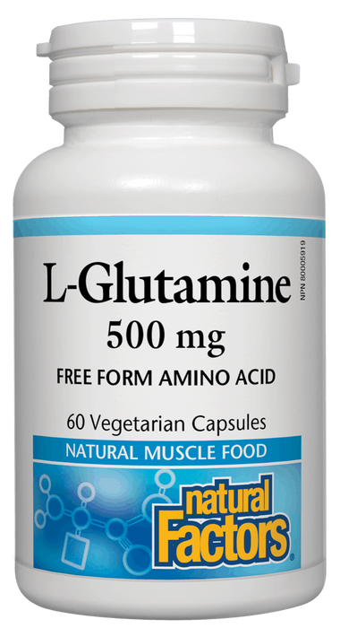 Natural Factors Glutamine 60 caps | YourGoodHealth