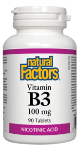 Natural Factors  Vitamin B3 100mg | YourGoodHealth