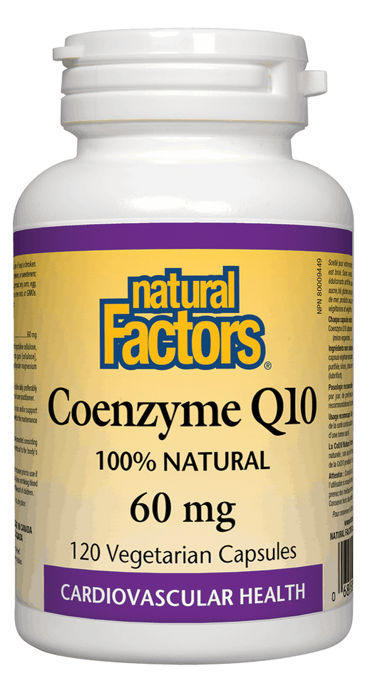Natural Factors Coenzyme Q10 60 mg | YourGoodHealth