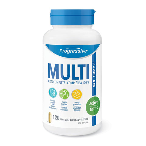 Progressive Mens Active Multivitamin | Your Good Health