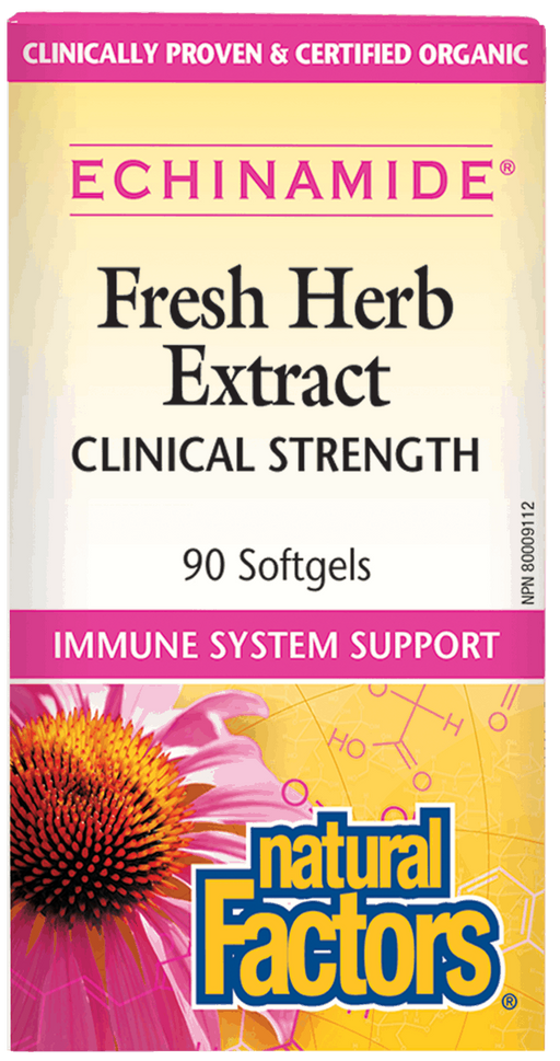 Natural Factors Anti-Cold Echinacea 90 capsules | YourGoodHealth