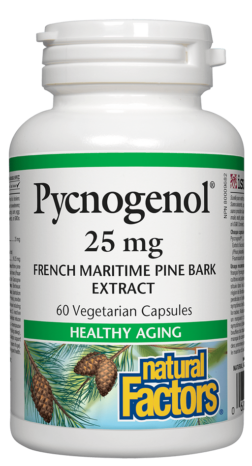 Natural Factors Pycnogenol 25mg | Your Good Health