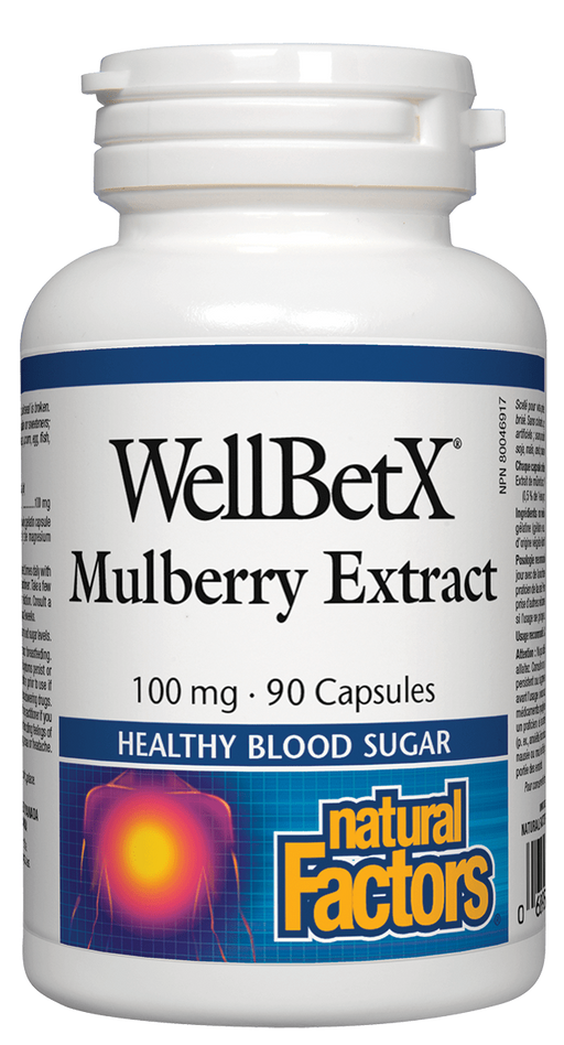 Natural Factors WellBetX Mulberry | Your Good Health
